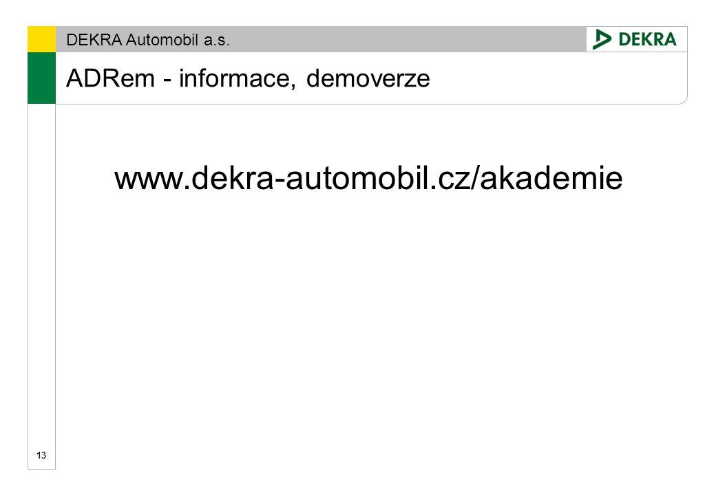 ADRem - informace, demoverze