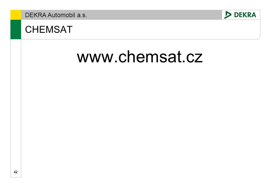 CHEMSAT www.chemsat.cz
