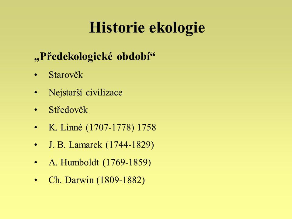"""Historie ekologie """"Předekologické období Starověk"""