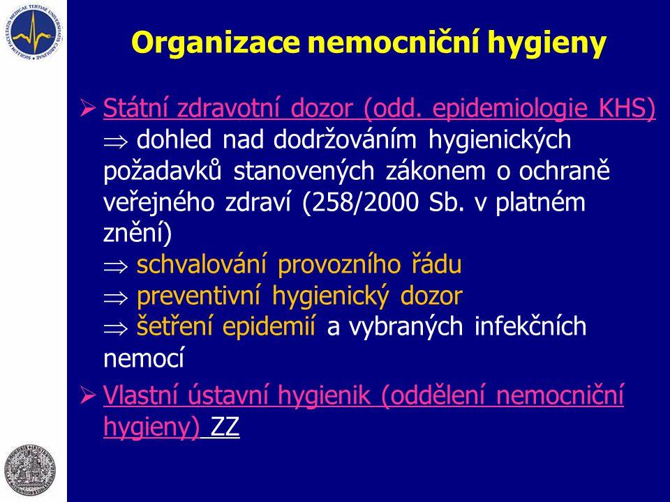 Organizace nemocniční hygieny