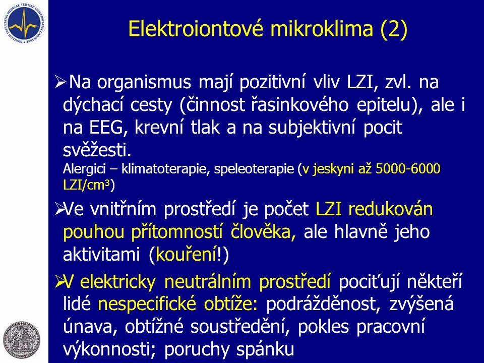 Elektroiontové mikroklima (2)