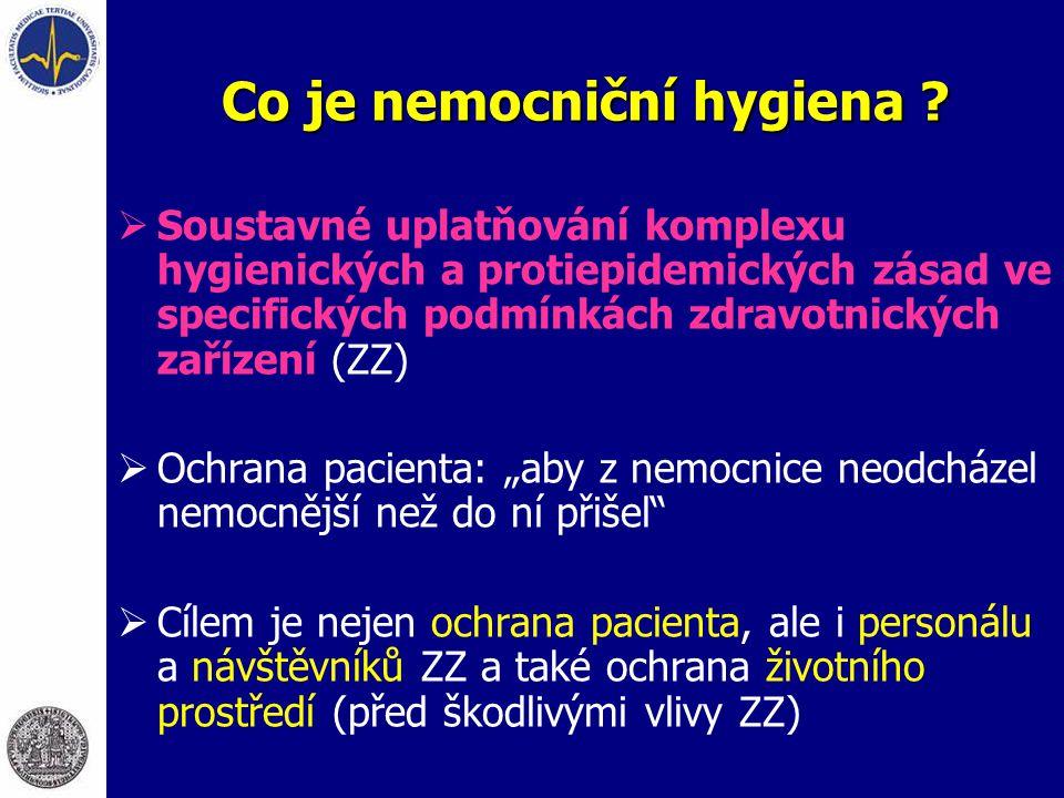Co je nemocniční hygiena