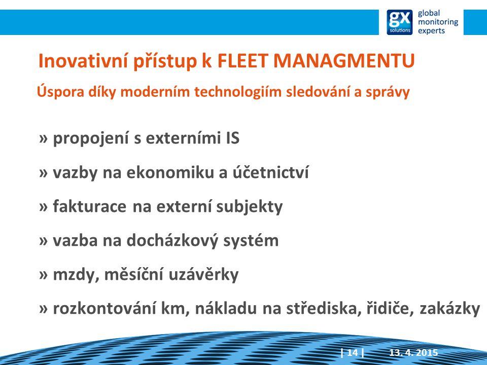 Inovativní přístup k FLEET MANAGMENTU
