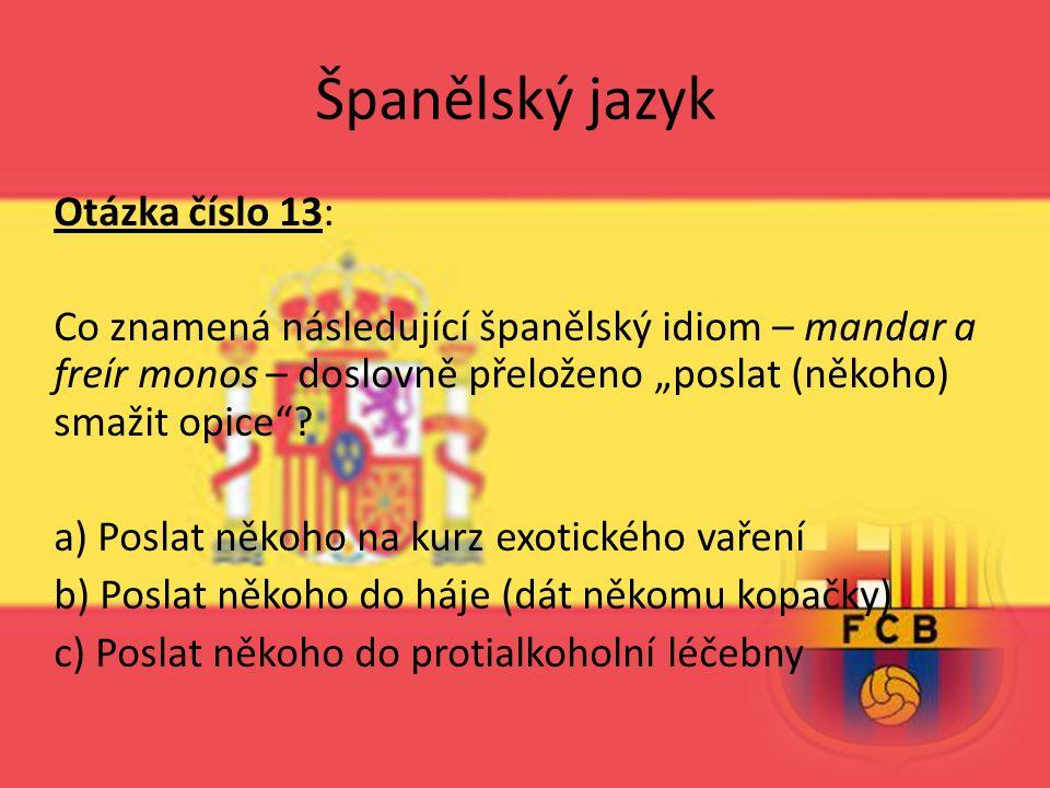 Španělský jazyk