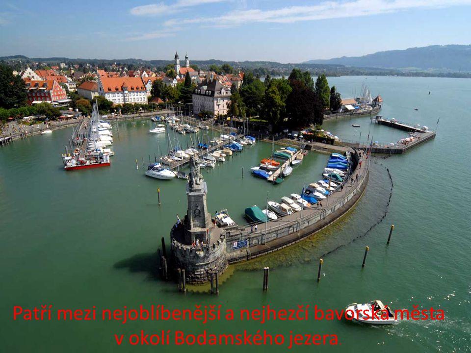 Patří mezi nejoblíbenější a nejhezčí bavorská města