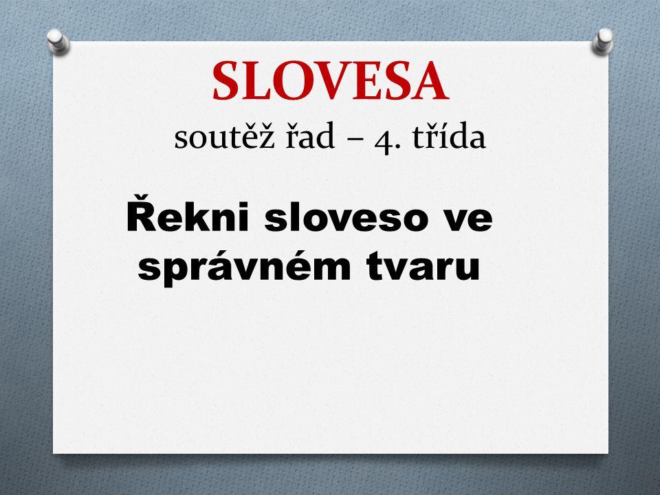 SLOVESA soutěž řad – 4. třída