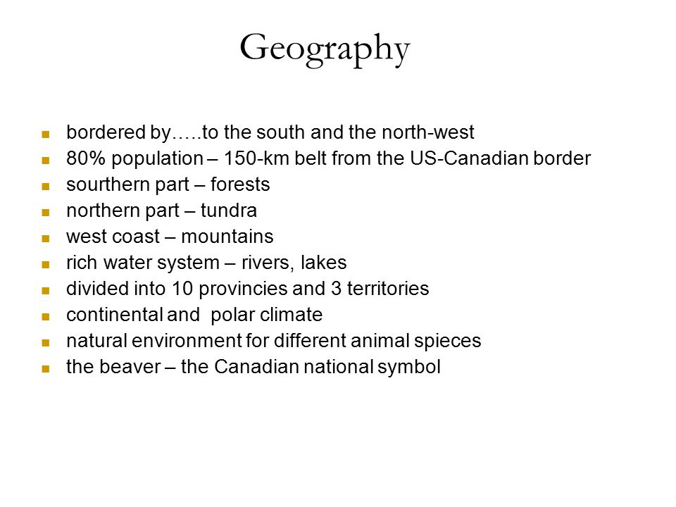 Geography bordered by…..to the south and the north-west