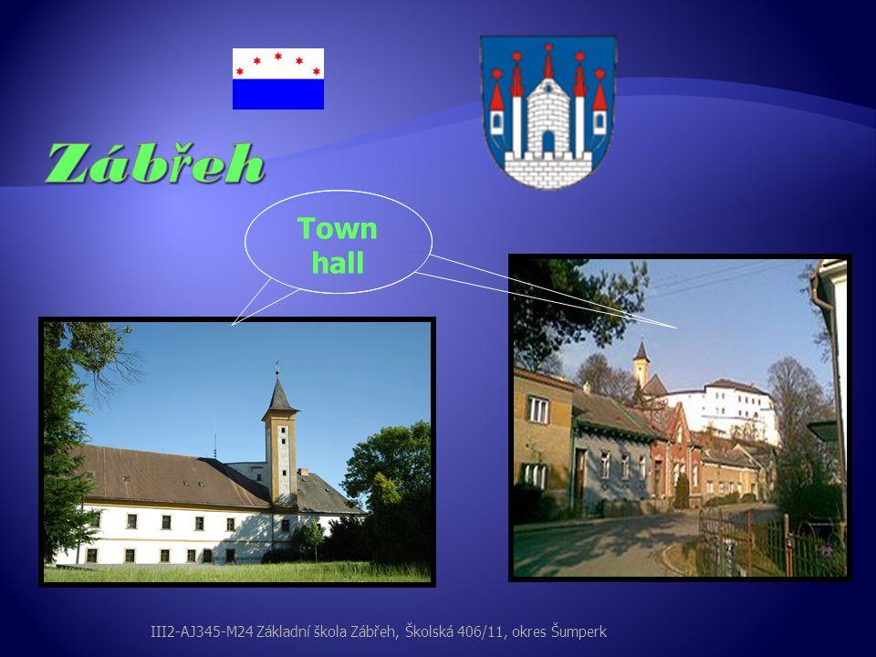 Zábřeh Town hall III2-AJ345-M24 Základní škola Zábřeh, Školská 406/11, okres Šumperk