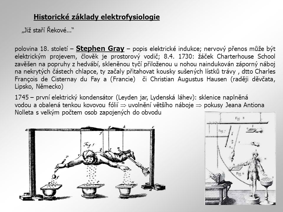 Historické základy elektrofysiologie