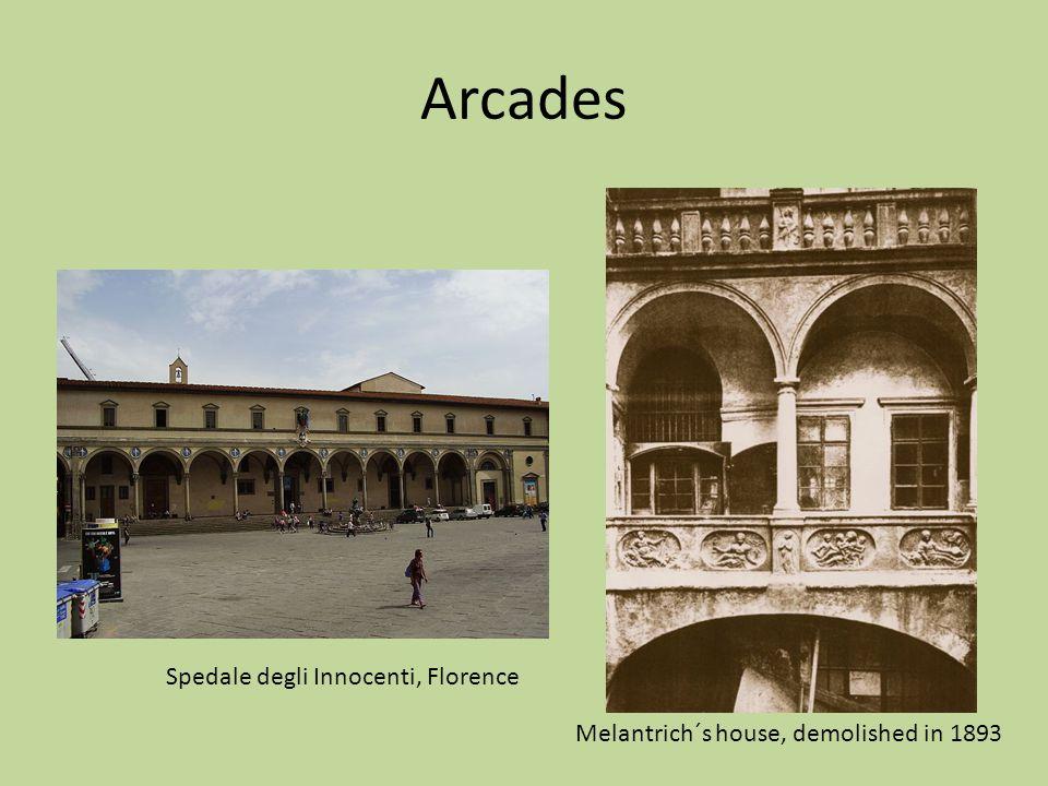 Arcades Spedale degli Innocenti, Florence