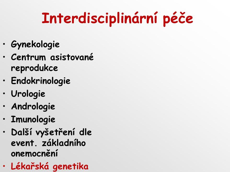 Interdisciplinární péče