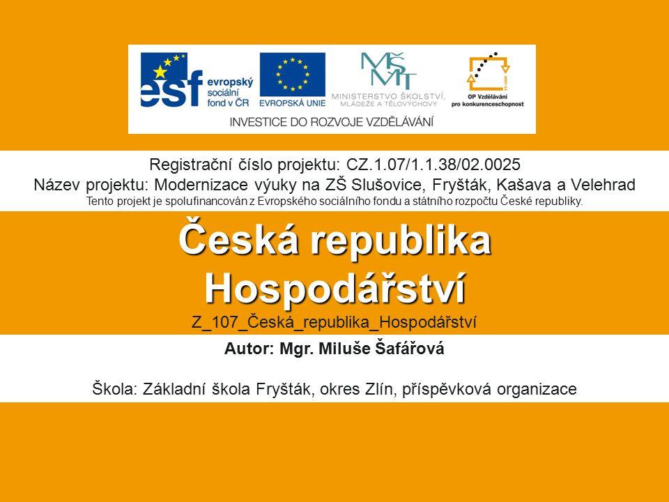 Česká republika Hospodářství Z_107_Česká_republika_Hospodářství