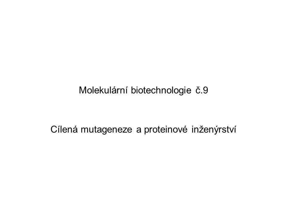 Molekulární biotechnologie č.9