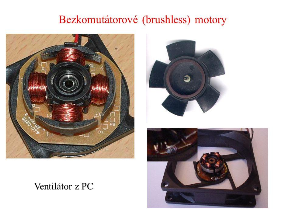 Bezkomutátorové (brushless) motory