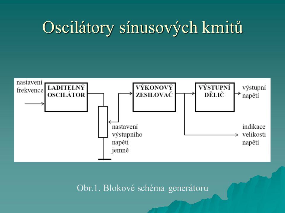 Oscilátory sínusových kmitů