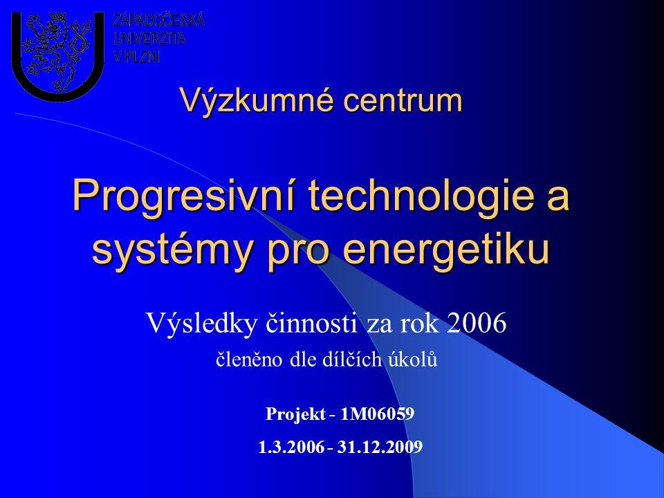 Výzkumné centrum Progresivní technologie a systémy pro energetiku