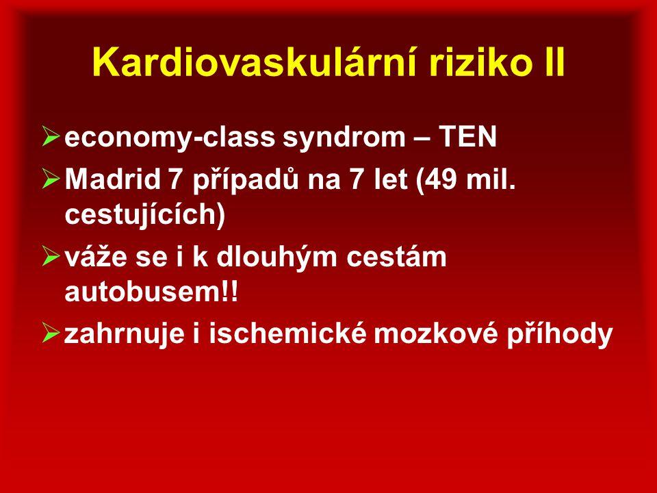 Kardiovaskulární riziko II