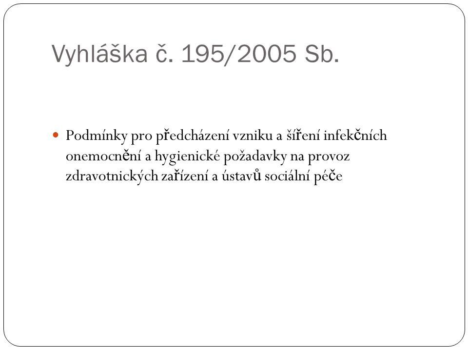 Vyhláška č. 195/2005 Sb.