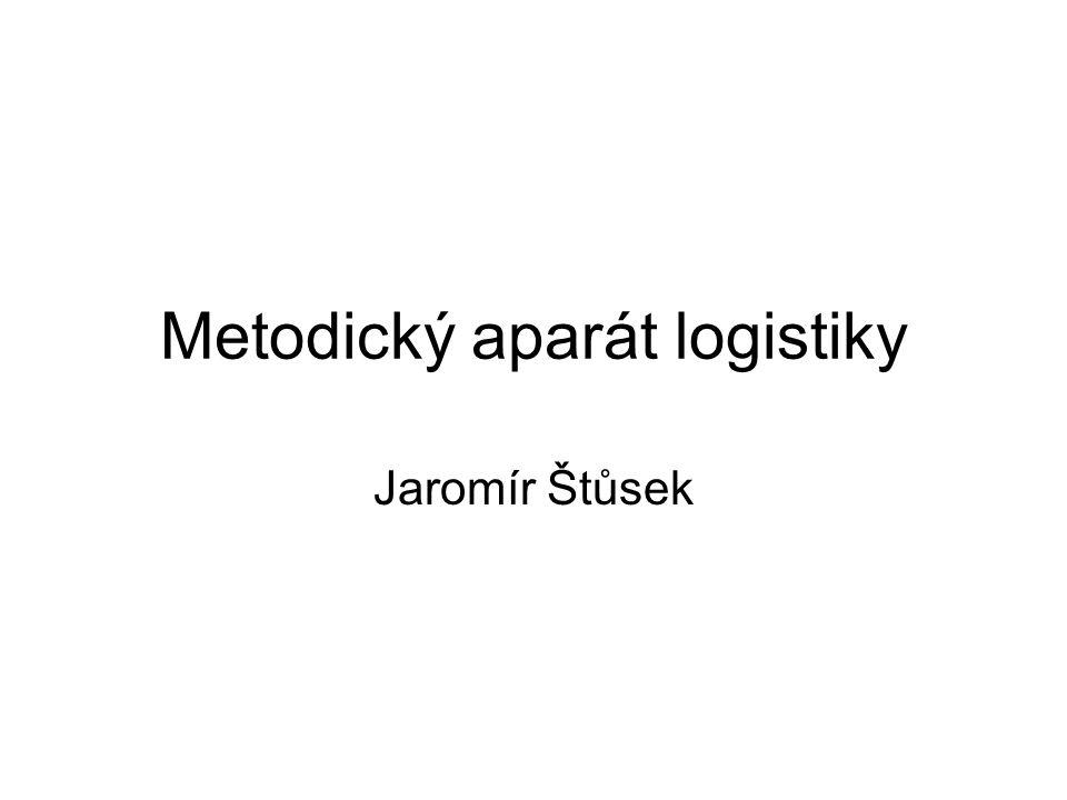 Metodický aparát logistiky