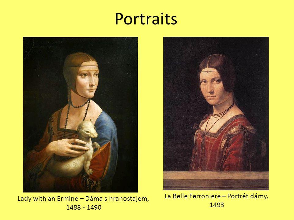 Portraits La Belle Ferroniere – Portrét dámy,