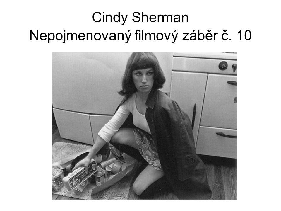 Cindy Sherman Nepojmenovaný filmový záběr č. 10