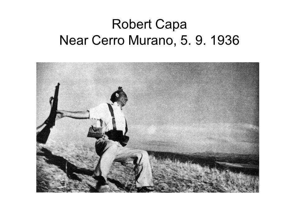 Robert Capa Near Cerro Murano, 5. 9. 1936