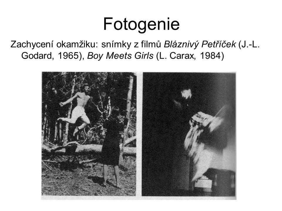 Fotogenie Zachycení okamžiku: snímky z filmů Bláznivý Petříček (J.-L.