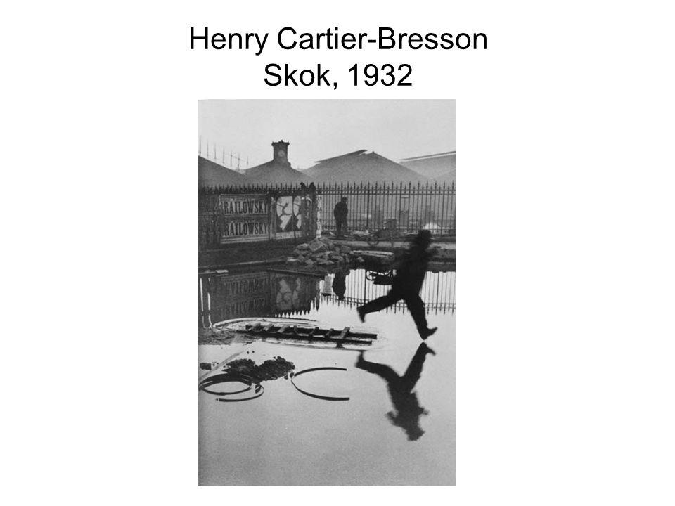 Henry Cartier-Bresson Skok, 1932