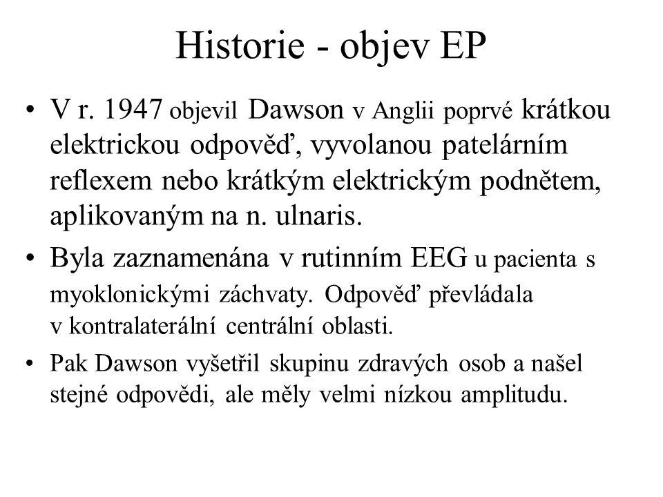 Historie - objev EP