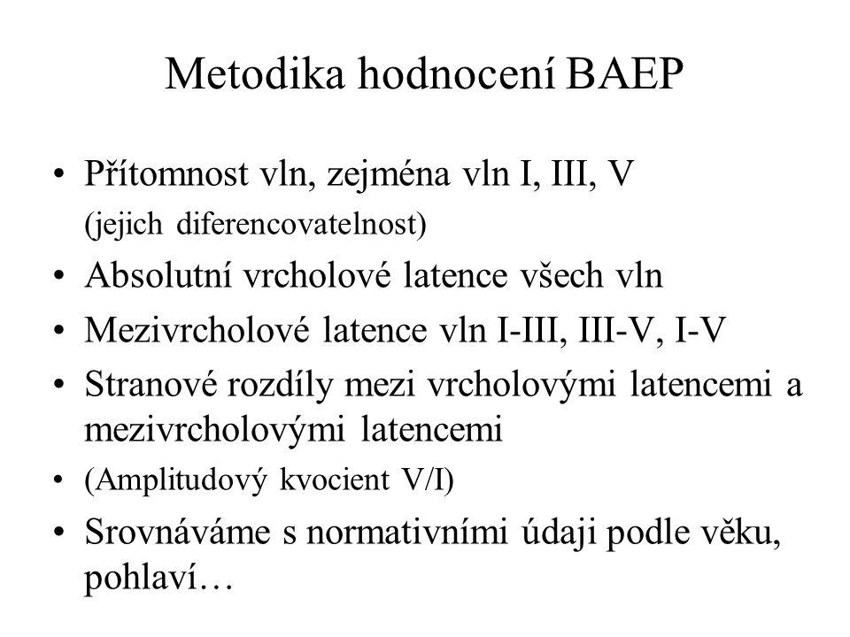 Metodika hodnocení BAEP