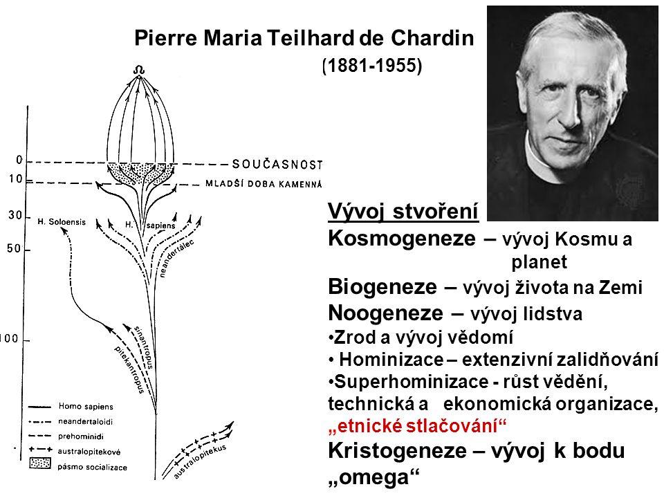 Pierre Maria Teilhard de Chardin (1881-1955)