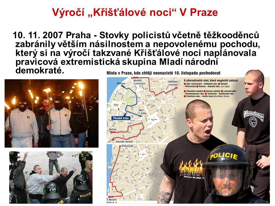 """Výročí """"Křišťálové noci V Praze"""