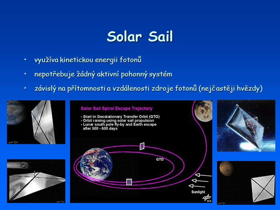 Solar Sail využíva kinetickou energii fotonů
