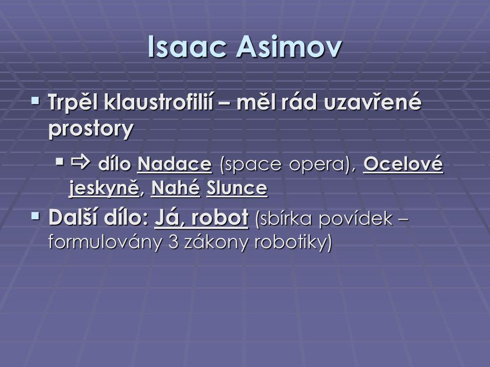 Isaac Asimov  dílo Nadace (space opera), Ocelové jeskyně, Nahé Slunce