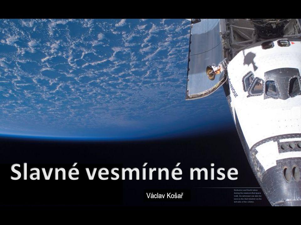 Slavné vesmírné mise Václav Košař
