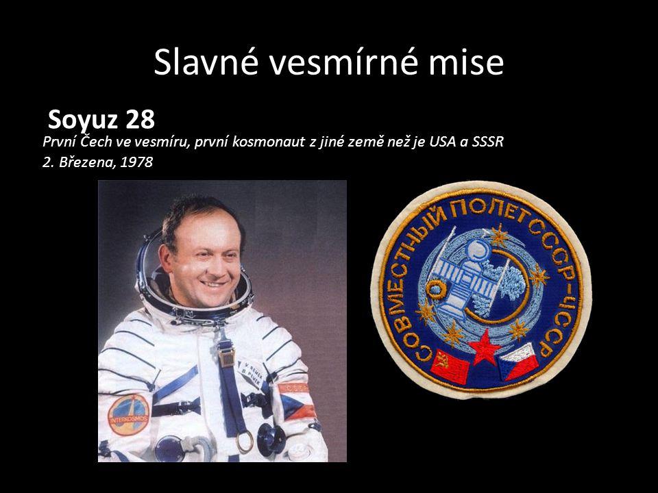 Slavné vesmírné mise Soyuz 28