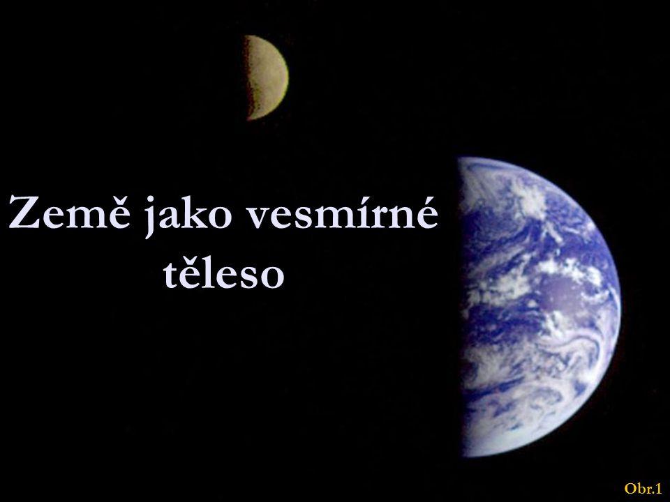 Země jako vesmírné těleso