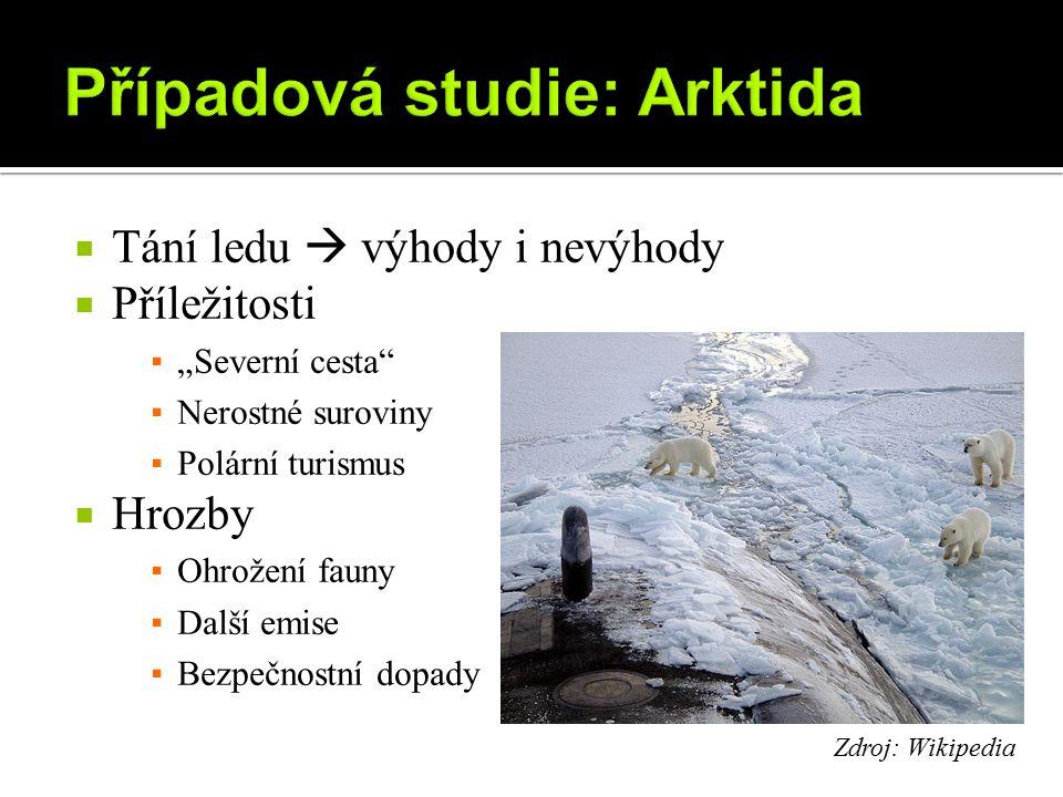 Případová studie: Arktida
