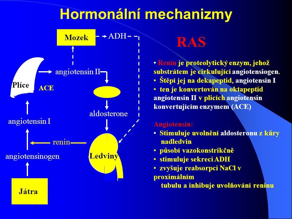Hormonální mechanizmy
