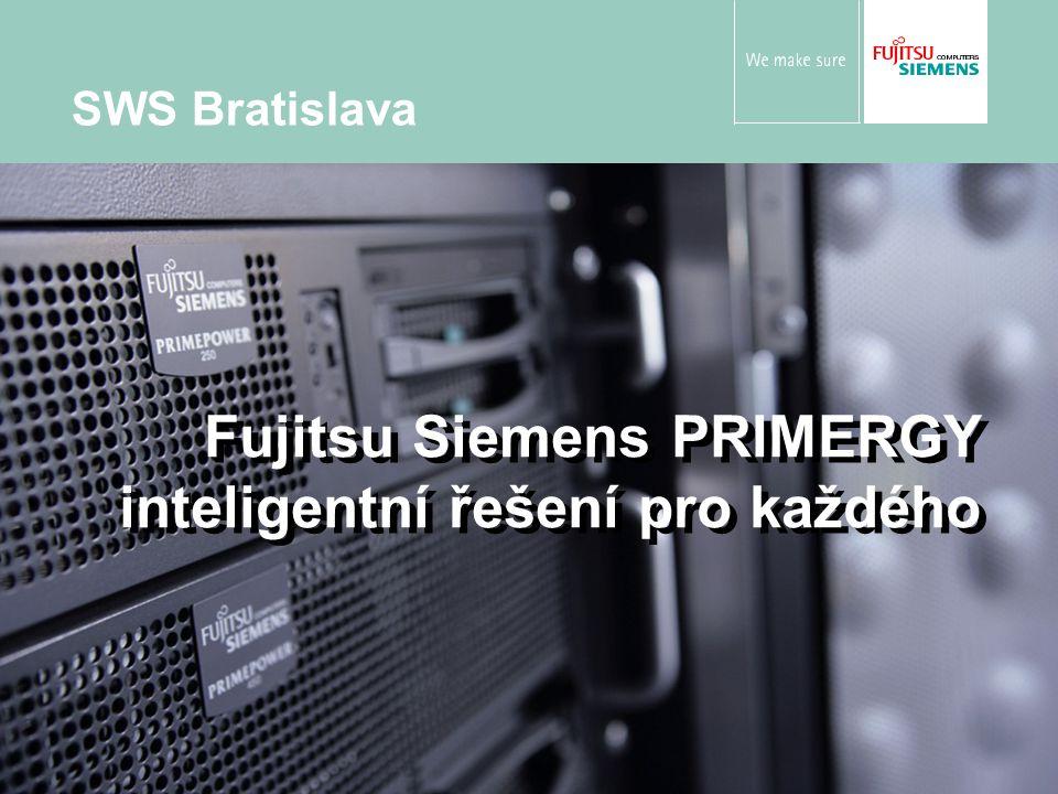 Fujitsu Siemens PRIMERGY inteligentní řešení pro každého