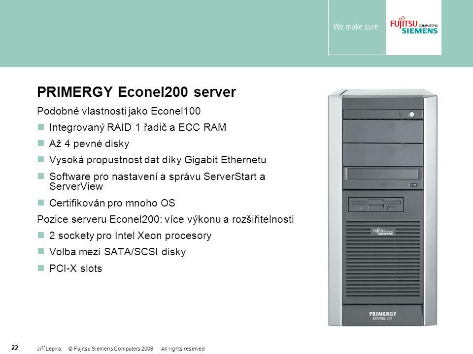 PRIMERGY Econel200 server