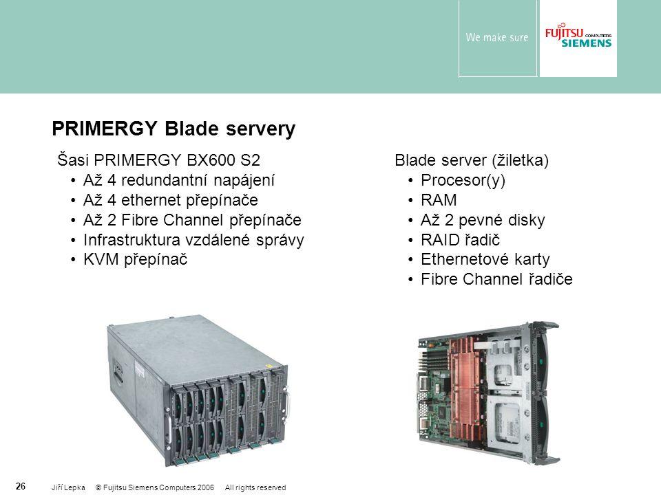 PRIMERGY Blade servery