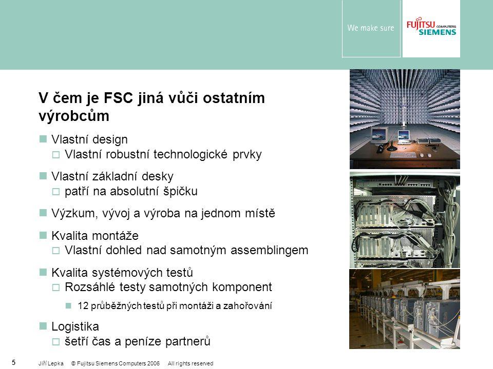 V čem je FSC jiná vůči ostatním výrobcům