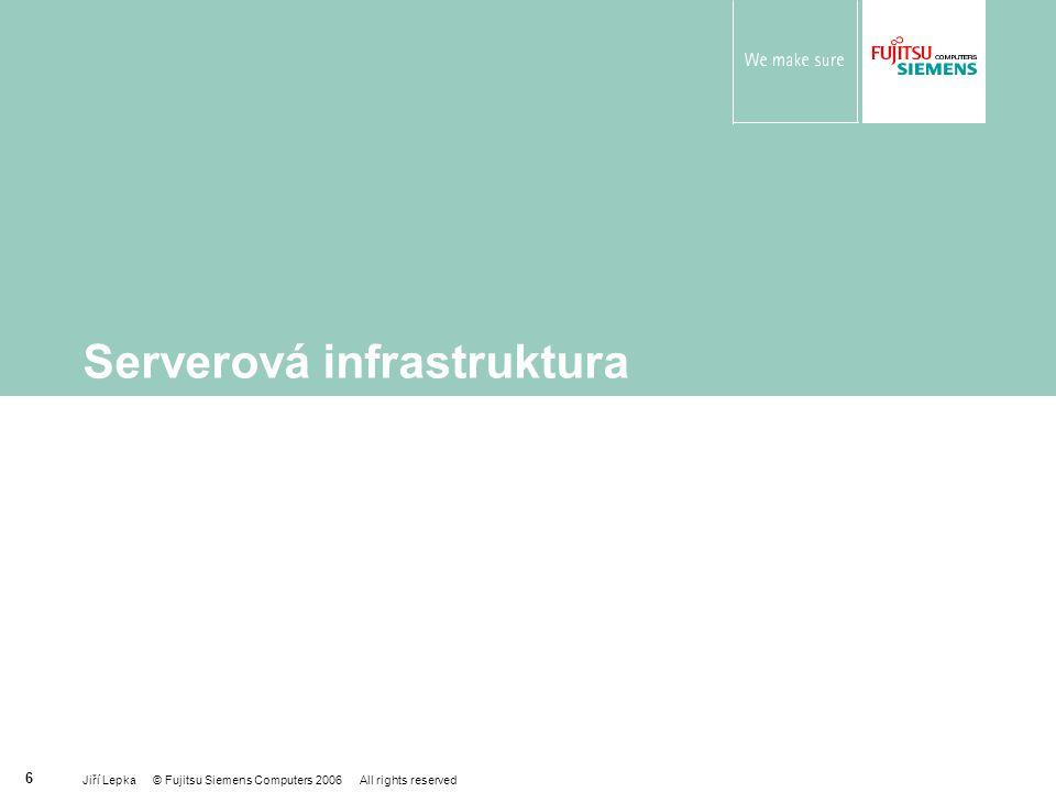Serverová infrastruktura