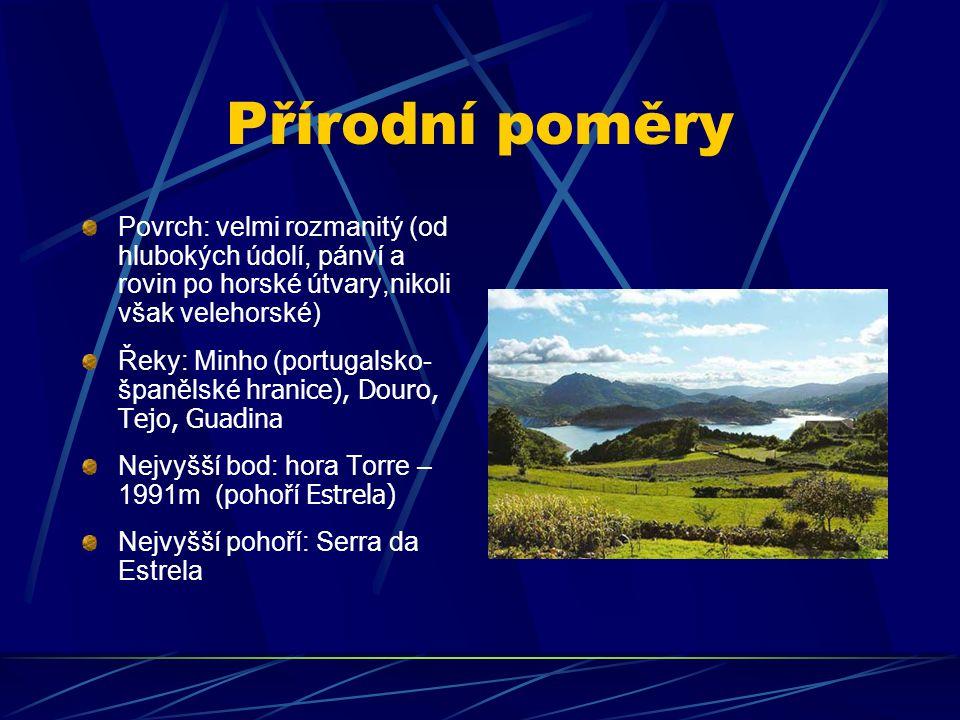 Přírodní poměry Povrch: velmi rozmanitý (od hlubokých údolí, pánví a rovin po horské útvary,nikoli však velehorské)
