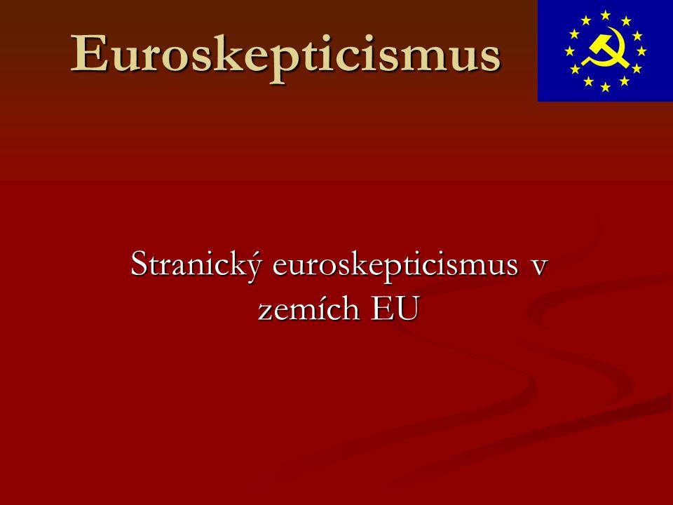 Stranický euroskepticismus v zemích EU