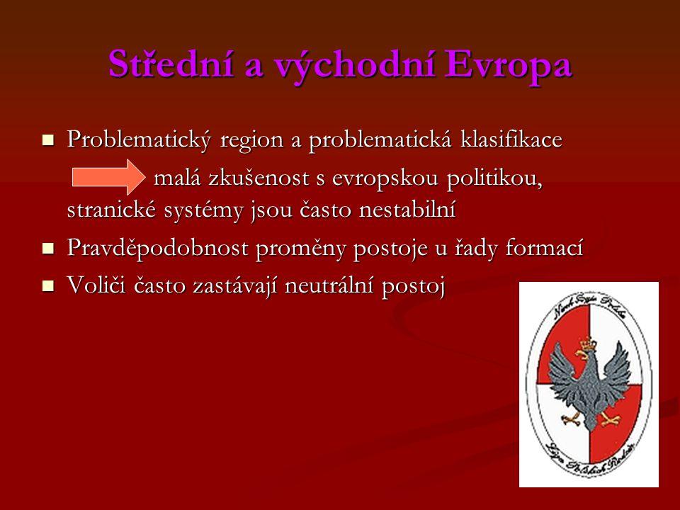 Střední a východní Evropa