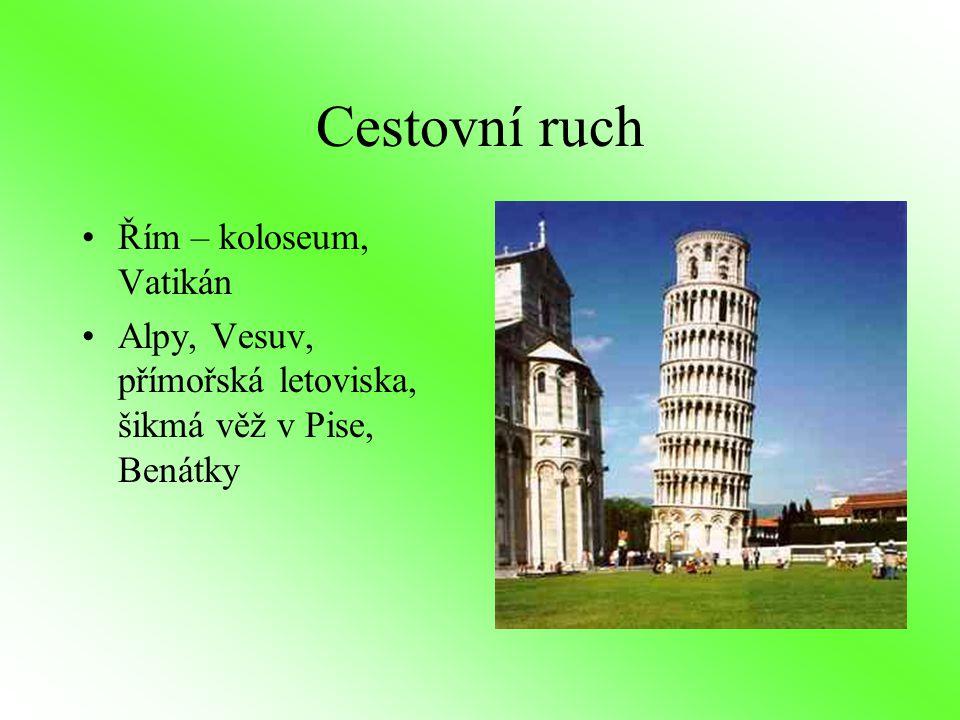 Cestovní ruch Řím – koloseum, Vatikán