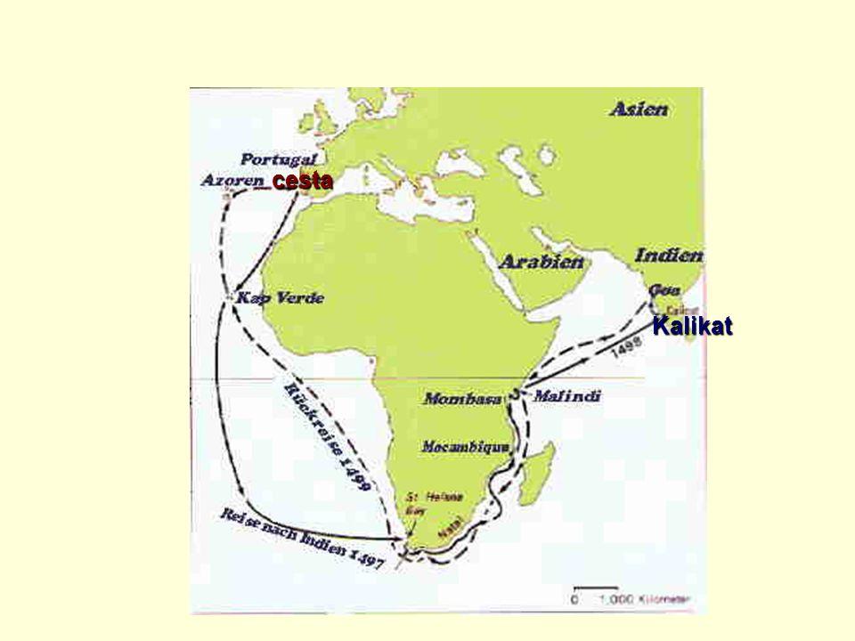 cesta Kalikat