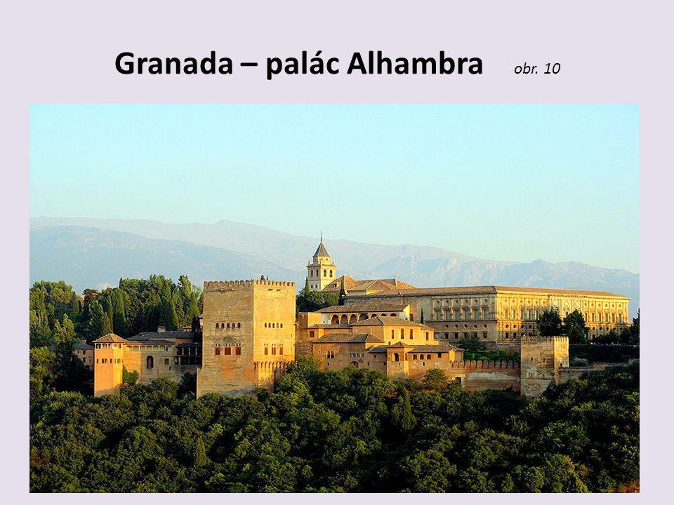 Granada – palác Alhambra obr. 10